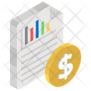 Sales Report Financial Report Sales Infographic Icon