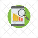 Data Analysis Business Performance Sales Statistics Icon