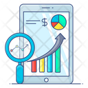Sales Chart Sales Statistics Sales Analysis Icon