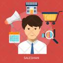 Salesman Icon