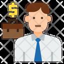 Isalesman Salesman Businessman Icon