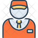 Salesman Vendor Dealer Icon