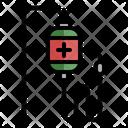 Saline Transfusion Hospital Icon