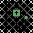 Saline Transfusion Sickness Icon