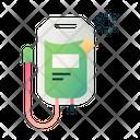 Saline bag Icon