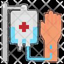 Saline Hand Hospital Icon