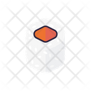 Salmon Sushi Roll Icon