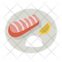 Fish Meal Salmon Icon