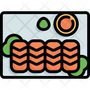 Salmon Sashimi Japan Icon