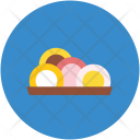 Sushi Salmon Roll Icon