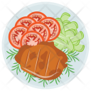 Salmon Salad Fish Icon