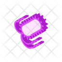 Salmonella Bacteria Isometric Icon
