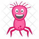 Microorganism Salmonella Microorganism Scary Bacteria Icon