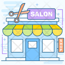 Salon Parlor Beauty Shop Icon