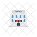 Salon Building Shop Icon