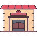 Saloon Building Wild Icon
