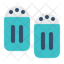 Salt Pepper Spices Icon