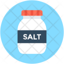Salt Bottle Container Icon