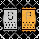 Salt And Pepper Salt Pepper Icon