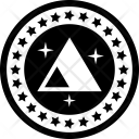 Ethereum Blockchain Cryptocurrency Icon