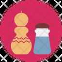 Salt Shaker Pepper Shaker Pepper Icon