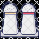 Salt Shaker Condiment Cooking Icon