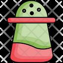 Pepper Mill Pepper Pot Pepper Shaker Icon