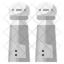 Salt Shakers Salt And Pepper Shakers Icon