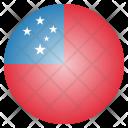 Samoa National Country Icon