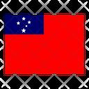 Samoa Flag Flags Icon