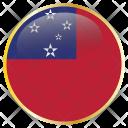 Samoa Country Flag Icon