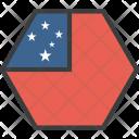Samoa Samoan Country Icon