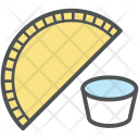 Samosa Food Meal Icon