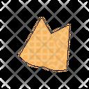 Samosa Fastfood Snack Icon