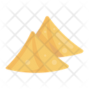 Samosas Traditional Food Snack Icon
