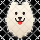 Samoyed Dog Puppy Icon
