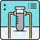 Sample Research Chemistry Experiment Icon