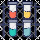 Sample Tube Test Tube Holder Test Tube Stand Icon
