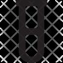 Sampling Test Tube Icon