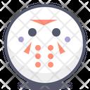 Samurai Happy Face Icon