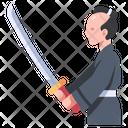 Isamurai Samurai Fighter Icon
