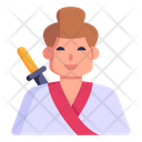 Japanese Person Samurai Man Samurai Icon