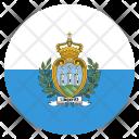 San Marino Country Icon