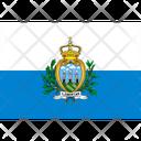 Flag Country San Marino Icon