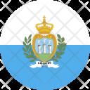 San Marino Flag Icon