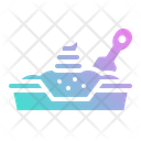 Sand Litter Box Icon