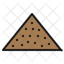 Sand Material Industry Icon
