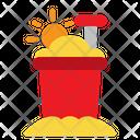 Bucket Sand Beach Bucket Icon