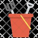 Bucket Spade Sand Icon