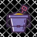 Sand Bucket Icon